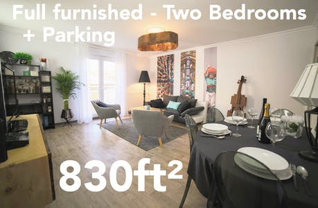 Apartment for rent from 01 Jan 2019 (Rue Henri Desbals, Toulouse)