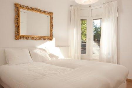 Apartamento para alugar desde 05 mar 2019 (Ronda del General Mitre, Barcelona)
