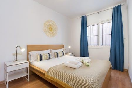 Wohnung zur Miete von 02 Okt. 2018 (Carrer de Santa Mònica, Barcelona)