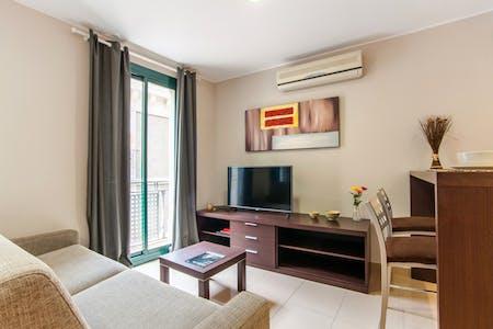 Apartment for rent from 30 Sep 2019 (Carrer de Sant Pau, Barcelona)