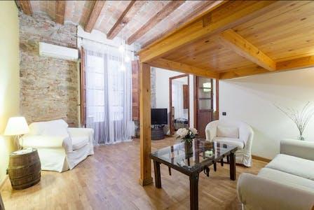 整套公寓租从24 1月 2019 (Carrer de Corretger, Barcelona)