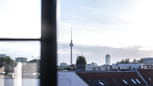 Apartamento para alugar desde 21 Nov 2018 (Warschauer Straße, Berlin)