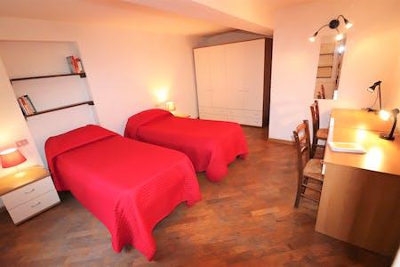 共用的房间租从22 Jul 2019 (Via Sant'Egidio, Florence)