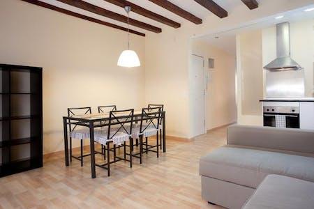 整套公寓租从28 2月 2019 (Carrer d'Obradors, Barcelona)