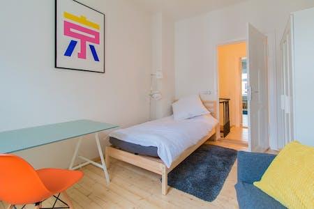 Habitación privada de alquiler desde 01 Mar 2020 (Bandelstraße, Berlin)