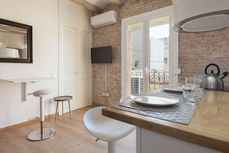 Appartement te huur vanaf 08 Aug 2020 (Carrer dels Safareigs, Barcelona)
