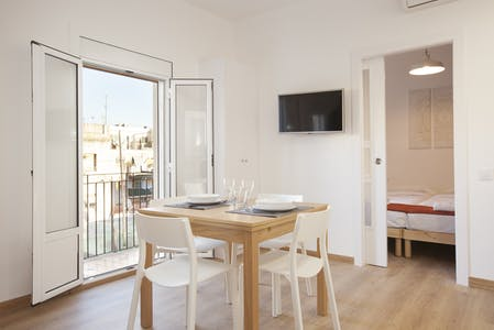 Apartment for rent from 17 Jan 2019 (Carrer de la Vila Joiosa, Barcelona)