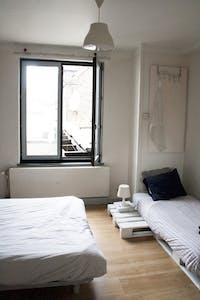 Apartamento de alquiler desde 24 Jun 2019 (Rue Verte, Schaerbeek)