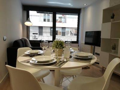 整套公寓租从18 2月 2019 (Carrer de Reus, Barcelona)