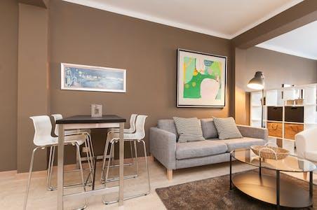 Apartamento de alquiler desde 01 ene. 2019 (Carrer d'Enric Granados, Barcelona)