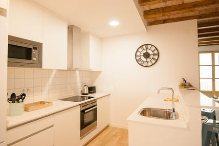 Apartment for rent from 27 Aug 2019 (Carrer de les Carretes, Barcelona)