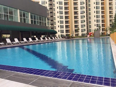 Apartment for rent from 18 Sep 2018 (Jalan Kangkar Tebrau, Johor Bahru)