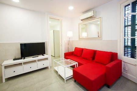 Apartamento de alquiler desde 20 ene. 2019 (Carrer d'Entença, Barcelona)