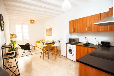 Apartamento de alquiler desde 11 Apr 2020 (Rambla del Raval, Barcelona)