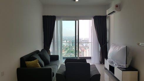 Apartamento para alugar desde 19 jan 2019 (Jalan Dato Abdullah Tahir, Johor Bahru)