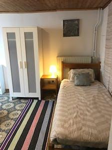 WG-Zimmer zur Miete ab 14 Sep. 2020 (Rue Vanderborght, Koekelberg)