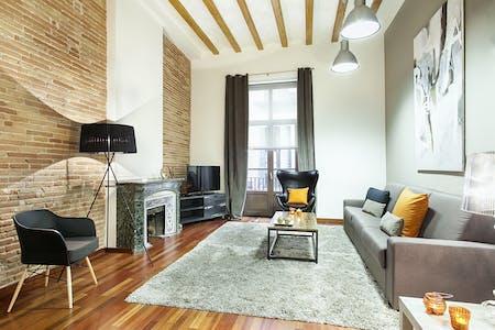 Appartement te huur vanaf 27 Jan 2020 (Carrer de la Portaferrissa, Barcelona)