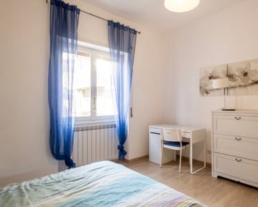 Private room for rent from 05 Aug 2019 (Via Angelo Mosso, Roma)