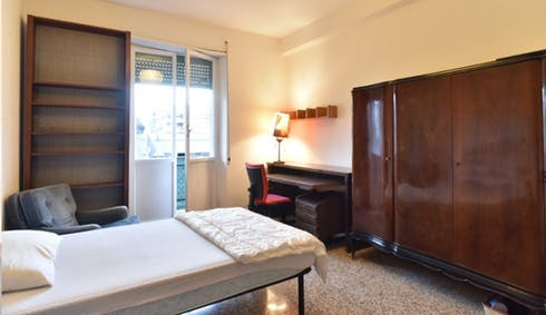Private room for rent from 19 Jul 2019 (Viale Arrigo Boito, Rome)