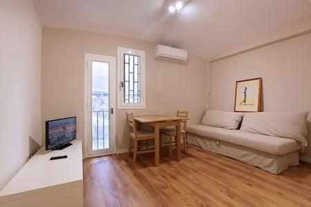 Appartement te huur vanaf 01 May 2020 (Carrer Nou de Dulce, Barcelona)
