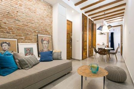 Wohnung zur Miete von 01 Mar 2020 (Carrer Nou de la Rambla, Barcelona)