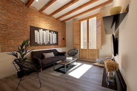Apartamento para alugar desde 16 May 2021 (Carrer Tortellà, Barcelona)