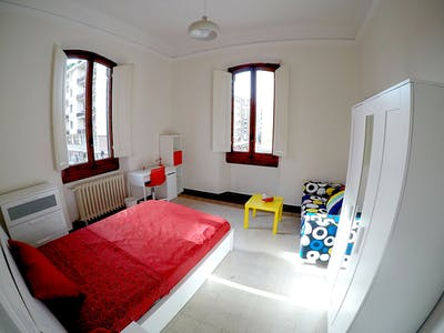 Room for rent from 01 Jan 2019 (Via della Cernaia, Florence)