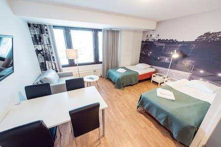 Private room for rent from 22 Jul 2019 (Hitsaajankatu, Helsinki)