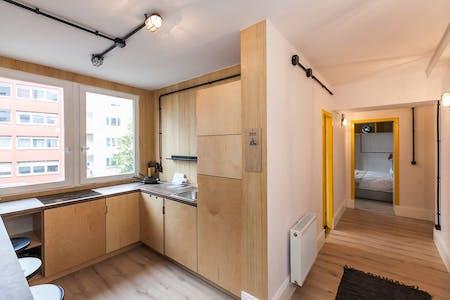 Habitación privada de alquiler desde 01 Oct 2019 (Leibnizstraße, Berlin)