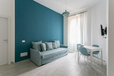 Appartement te huur vanaf 18 jan. 2019 (Via Giovanni Bertacchi, Milan)