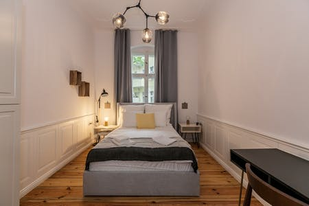 Private room for rent from 24 Feb 2019 (Dominicusstraße, Berlin)