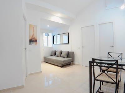 Wohnung zur Miete ab 16 Juni 2020 (Calle de Antonio Prieto, Madrid)
