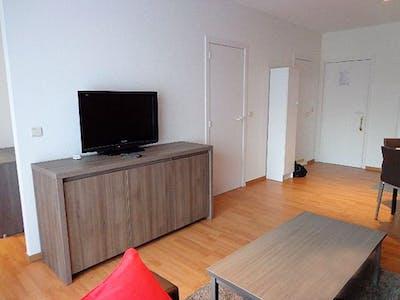 Wohnung zur Miete ab 30 März 2020 (Avenue Henry Dunant, Evere)
