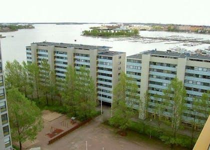 共用的房间租从17 Jun 2019 (Haapaniemenkatu, Helsinki)