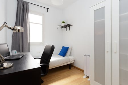Private room for rent from 23 Feb 2020 (Carrer de Pareto, L'Hospitalet de Llobregat)