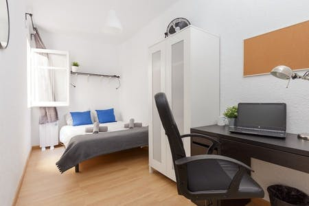 Private room for rent from 30 Jun 2020 (Carrer de Pareto, L'Hospitalet de Llobregat)