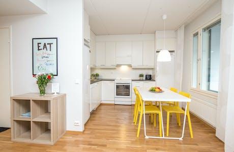 整套公寓租从19 Jun 2019 (Myllykatu, Vaasa)