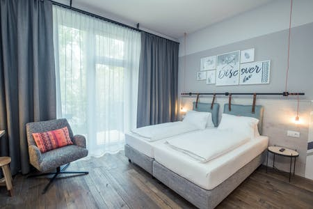 Appartamento in affitto a partire dal 23 Jul 2019 (Ausstellungsstraße, Vienna)