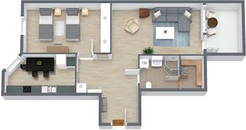 Appartamento in affitto a partire dal 19 feb 2019 (Raastuvankatu, Vaasa)