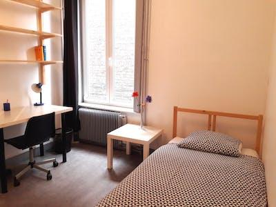 Quarto para alugar desde 15 dez 2018 (Rue Ernest Deconynck, Lille)