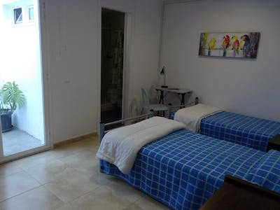 Private room for rent from 06 Feb 2019 (Carrer de Sant Eudald, Barcelona)