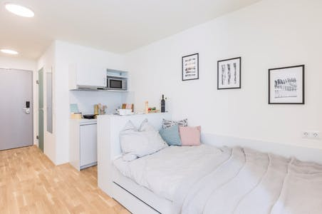 Studio for rent from 01 Apr 2019 (Dresdner Straße, Vienna)
