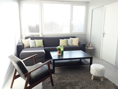 Private room for rent from 17 Jan 2019 (Rue Henri Dunant, Lille)