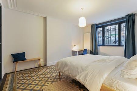 Privé kamer te huur vanaf 01 Dec 2019 (Chaussée de Charleroi, Saint-Gilles)