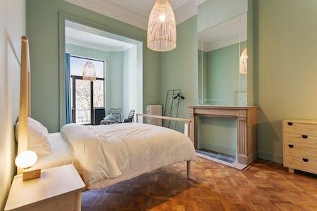 Privé kamer te huur vanaf 01 Oct 2019 (Chaussée de Charleroi, Saint-Gilles)