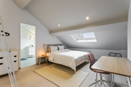 Private room for rent from 01 Nov 2019 (Chaussée de Charleroi, Saint-Gilles)