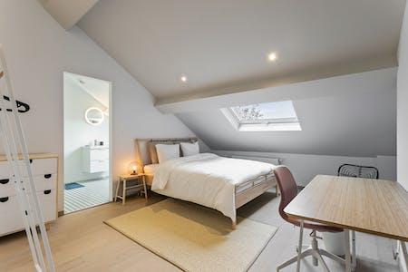 Privé kamer te huur vanaf 01 aug. 2019 (Chaussée de Charleroi, Saint-Gilles)