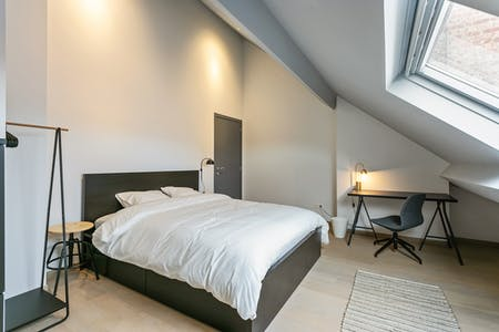 Private room for rent from 01 Jan 2020 (Chaussée de Charleroi, Saint-Gilles)