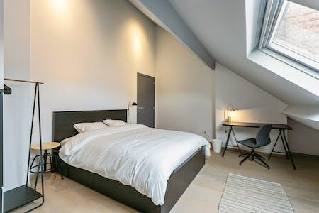 单人间租从01 Jul 2019 (Chaussée de Charleroi, Saint-Gilles)