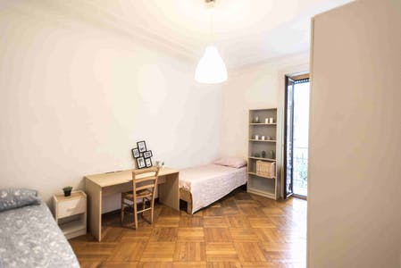 Shared room for rent from 01 Sep 2019 (Viale Campania, Milan)